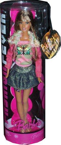 バービー バービー人形 日本未発売 J1386 Butterfly Shirt Barbie Fashion Fever Doll - 16バービー バービー人形 日本未発売