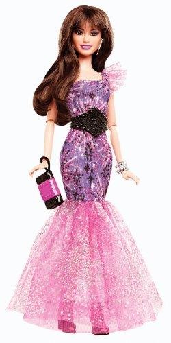 バービー バービー人形 ファッショニスタ 日本未発売 Y7497 Barbie Fashionistas in The Spotlight Gown Doll, Purpleバービー バービー人形 ファッショニスタ 日本未発売 Y7497