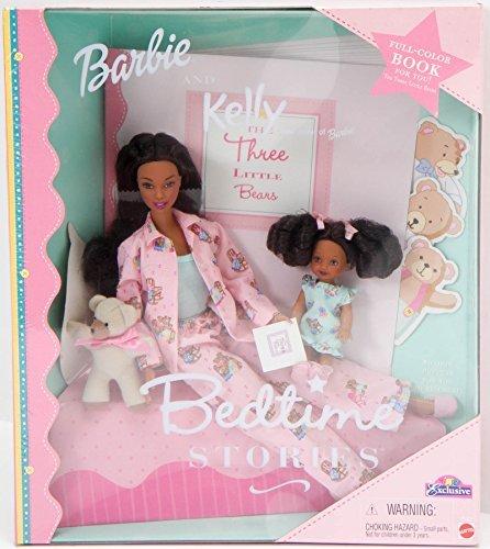 バービー バービー人形 チェルシー スキッパー ステイシー BEDTIME STORIES Gift Set with BARBIE Doll and Kelly Doll, African Americanバービー バービー人形 チェルシー スキッパー ステイシー