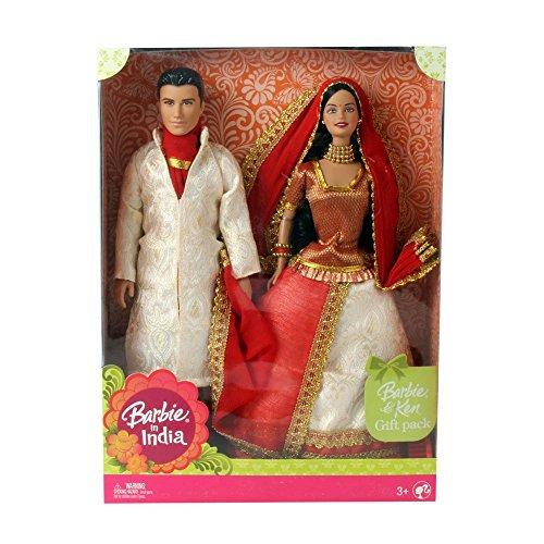 バービー バービー人形 ケン Ken P6876 Barbie in India Barbie & Ken Gift Pack P6876 Mint in box Damage on top of box YOUR CHOICE RED OR BLUE SETバービー バービー人形 ケン Ken P6876
