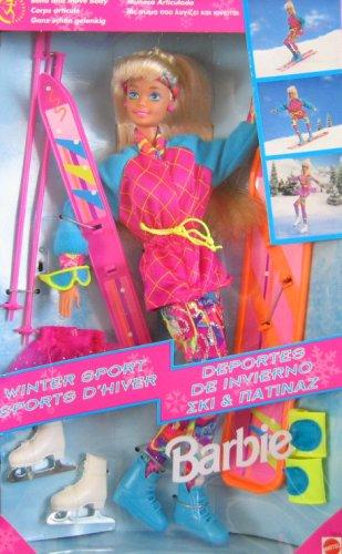 バービー バービー人形 日本未発売 13516 Barbie Winter Sport Doll Set w Skis & More! (1994)バービー バービー人形 日本未発売 13516