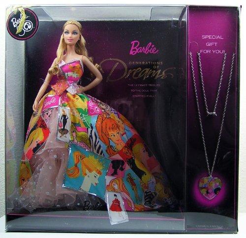 バービー バービー人形 バービーコレクター コレクタブルバービー プラチナレーベル T2933 Barbie 50th Anniversary Generation of Dreams Doll with Bonus Necklaceバービー バービー人形 バービーコレクター コレクタブルバービー プラチナレーベル T2933