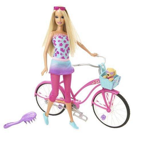 バービー バービー人形 日本未発売 N5852 Barbie Beach Party Doll And Bicycleバービー バービー人形 日本未発売 N5852