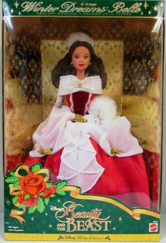 美女と野獣 ベル ビューティアンドザビースト ディズニープリンセス 19845 【送料無料】Disney's Beauty and the Beast Winter Dreams Belle Barbie from the Disney Holiday Collection美女と野獣 ベル ビューティアンドザビースト ディズニープリンセス 19845
