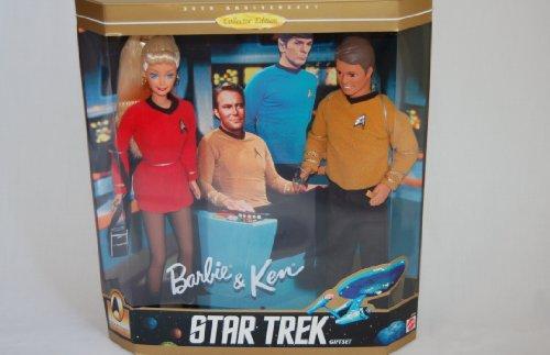 バービー バービー人形 ケン Ken 15006 【送料無料】Star Trek Barbie and Ken Setバービー バービー人形 ケン Ken 15006