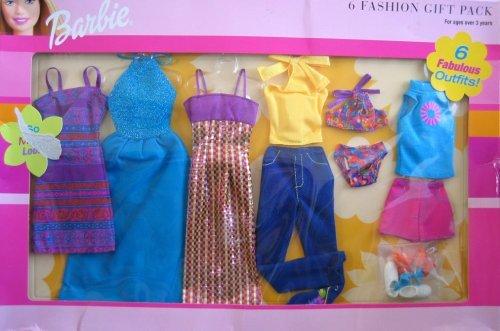 バービー バービー人形 着せ替え 衣装 ドレス 【送料無料】Barbie 6 Fashion Gift Pack 6 Fabulous Outfits! (2001)バービー バービー人形 着せ替え 衣装 ドレス