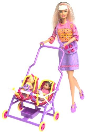 バービー バービー人形 チェルシー スキッパー ステイシー Barbie & Krissy Stroll 'n Play! 3-in-1 Funバービー バービー人形 チェルシー スキッパー ステイシー