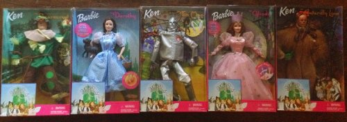 バービー バービー人形 日本未発売 Barbie Wizard of Oz Doll Set -Dorothy, Glinda, Tin Man, Scarecrow, Cowardly Lionバービー バービー人形 日本未発売