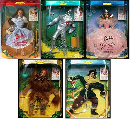 バービー バービー人形 バービーコレクター コレクタブルバービー プラチナレーベル Hollywood Legends Collection Set of 5
