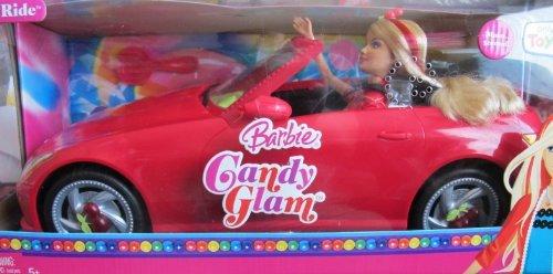 バービー バービー人形 日本未発売 プレイセット アクセサリ N3840 Barbie Candy Glam Sweet Ride Vehicle Giftset Doll with a Red Carバービー バービー人形 日本未発売 プレイセット アクセサリ N3840