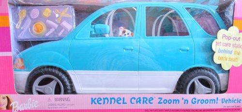 バービー バービー人形 日本未発売 プレイセット アクセサリ 388 Barbie KENNEL CARE ZOOM 'n GROOM Vehicle VAN SUV w Pop Out PET CARE STATION & MORE! (2001)バービー バービー人形 日本未発売 プレイセット アクセサリ 388