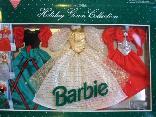 バービー バービー人形 着せ替え 衣装 ドレス 697A Barbie Holiday Gown Collection Limited Edition Fashions - Easy To Dress (1993 Arcotoys, Mattel)バービー バービー人形 着せ替え 衣装 ドレス 697A