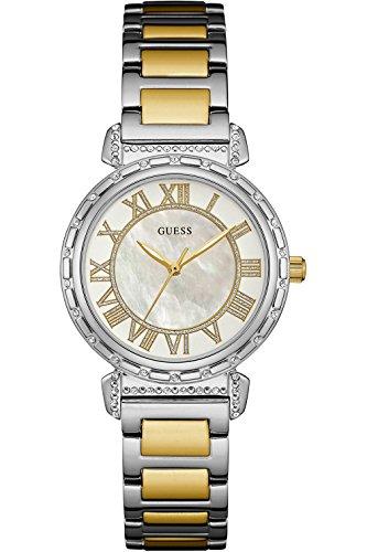 ゲス GUESS 腕時計 レディース W0831L3 GUESS W0831L3,Ladies Dress,Stainless Steel,Silver-Tone,Date,Crystal-Accented Bezel,30m WRゲス GUESS 腕時計 レディース W0831L3