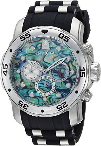 インヴィクタ インビクタ プロダイバー 腕時計 メンズ 24838 Invicta Men's Pro Diver Stainless Steel Quartz Watch with Polyurethane Strap, Black, 26 (Model: 24838)インヴィクタ インビクタ プロダイバー 腕時計 メンズ 24838