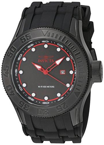 インヴィクタ インビクタ プロダイバー 腕時計 メンズ 22248 Invicta Men's Pro Diver Stainless Steel Quartz Watch with Silicone Strap, Black, 26 (Model: 22248)インヴィクタ インビクタ プロダイバー 腕時計 メンズ 22248