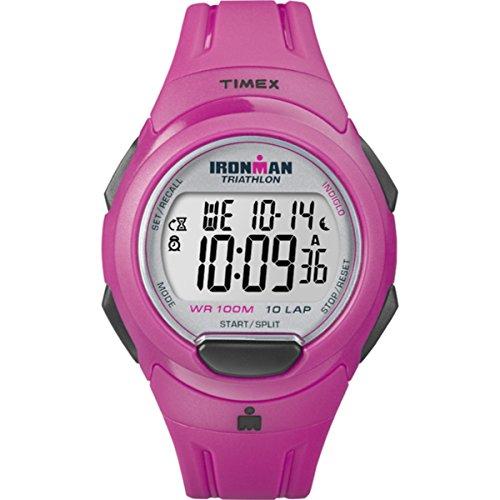 タイメックス 腕時計 レディース T5K780SU Timex T5K780 Ladies Ironman Pink Resin Strap Watchタイメックス 腕時計 レディース T5K780SU