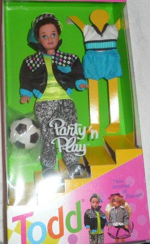 <title>無料ラッピングでプレゼントや贈り物にも 逆輸入並行輸入送料込 バービー バービー人形 チェルシー スキッパー ステイシー 7903 送料無料 Barbie - Party 'n Play TODD Doll Twin 格安 価格でご提供いたします Brother of Stacie 1992</title>