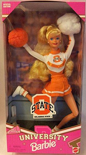 バービー バービー人形 大学 大学生 チアリーダー 【送料無料】Barbie Oklahoma State Universityバービー バービー人形 大学 大学生 チアリーダー
