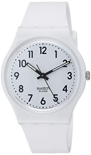 腕時計 スウォッチ レディース 夏の腕時計特集 GW151O 【送料無料】Swatch New Core Quartz Silicone Strap, White, 16 Casual Watch (Model: GW151O)腕時計 スウォッチ レディース 夏の腕時計特集 GW151O