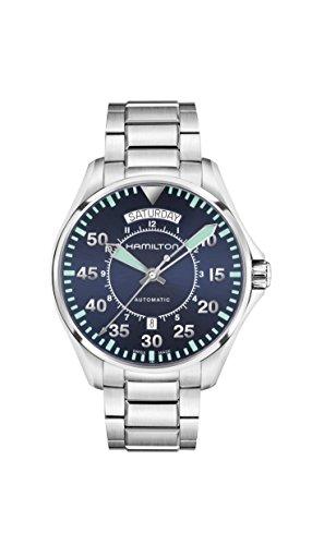ハミルトン 腕時計 メンズ H64615145 【送料無料】Men's Hamilton Khaki Aviation Pilot Day Date Auto Watch H64615145ハミルトン 腕時計 メンズ H64615145
