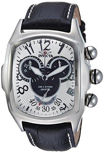 インヴィクタ インビクタ 腕時計 メンズ ディズニー 24522 Invicta Men's Disney Limited Edition Stainless Steel Quartz Watch with Leather Calfskin Strap, Black, 28 (Model: 24522)インヴィクタ インビクタ 腕時計 メンズ ディズニー 24522