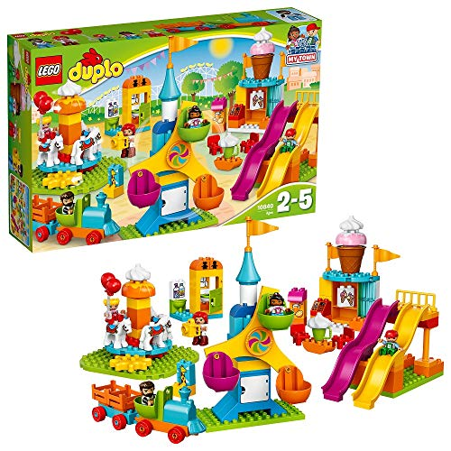 レゴ デュプロ 10840 【送料無料】LEGO DUPLO Town Big Fair 10840 Role Play and Learning Building Blocks Set for Toddlers Including a Ferris Wheel, Carousel, and Amusement Park (106 pieces)レゴ デュプロ 10840