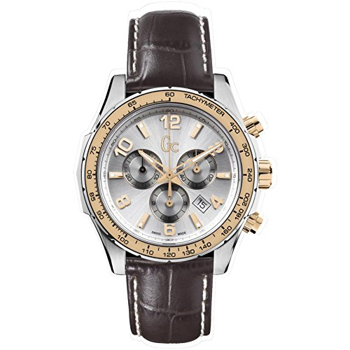 腕時計 ゲス GUESS メンズ X51005G1S 【送料無料】Guess Men's Chronograph Quartz Watch with Leather Strap X51005G1S腕時計 ゲス GUESS メンズ X51005G1S