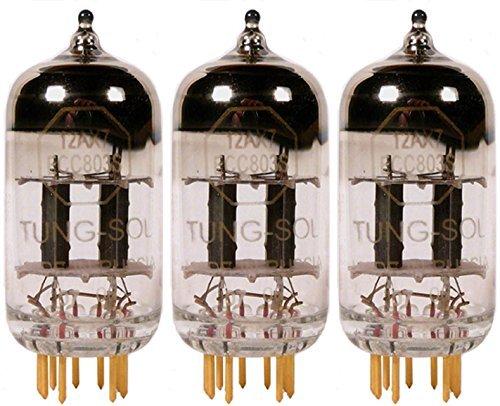 真空管 ギター・ベース アンプ 海外 輸入 12AX7 / ECC803 Tung-Sol Gold 12AX7 / ECC803S, Matched Trio真空管 ギター・ベース アンプ 海外 輸入 12AX7 / ECC803