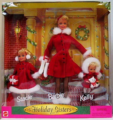 バービー バービー人形 チェルシー スキッパー ステイシー 23617 Barbie Holiday Sisters 1999, Kelly & Stacie Gift Setバービー バービー人形 チェルシー スキッパー ステイシー 23617