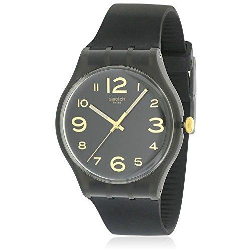 腕時計 スウォッチ メンズ 夏の腕時計特集 SUOB138 【送料無料】Swatch Men's Magies D'Hiver SUOB138 Black Silicone Swiss Quartz Dress Watch腕時計 スウォッチ メンズ 夏の腕時計特集 SUOB138