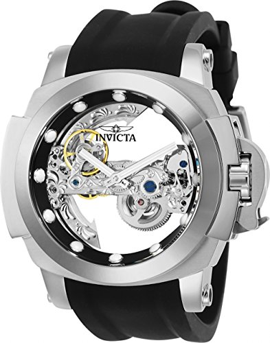 インヴィクタ インビクタ フォース 腕時計 メンズ 24707 Invicta Men's Coalition Forces Stainless Steel Automatic-self-Wind Watch with Silicone Strap, Black, 25 (Model: 24707インヴィクタ インビクタ フォース 腕時計 メンズ 24707