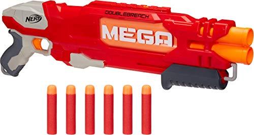 【送料無料】Nerf ナーフ エヌストライク メガ ダブルブリーチブラスター B9597 オレンジトリガー ショットガン ポンプアクション