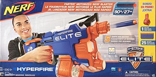 ナーフ エヌストライク アメリカ 直輸入 エリート Nerf N-Strike Elite HyperFire Blaster (with Bonus Drums and 25 Extra Darts)ナーフ エヌストライク アメリカ 直輸入 エリート