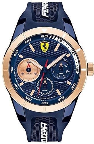 フェラーリ 腕時計 メンズ 830379 【送料無料】Ferrari Red Rev T Men's Quartz Watch 830379フェラーリ 腕時計 メンズ 830379