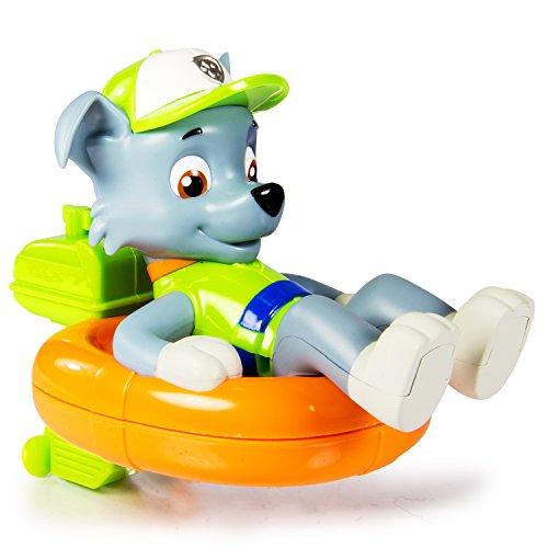 パウパトロール アメリカ直輸入 英語 バイリンガル育児 おもちゃ 20071002 Paw Patrol - Bath Paddlin Pup - Rockyパウパトロール アメリカ直輸入 英語 バイリンガル育児 おもちゃ 20071002