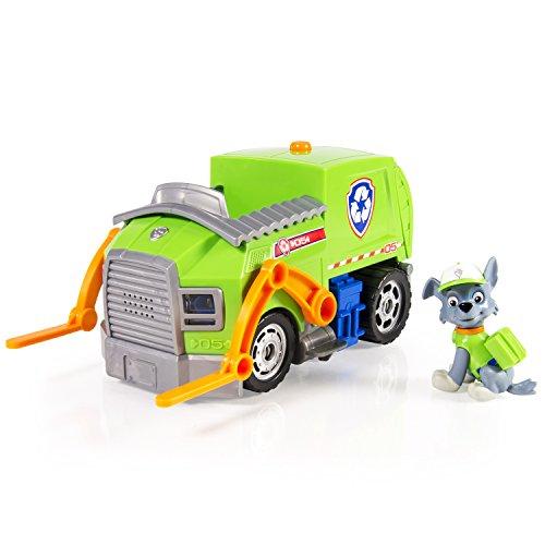 パウパトロール アメリカ直輸入 英語 バイリンガル育児 おもちゃ 20068113-6026842 【送料無料】Paw Patrol- Rocky's Lights and Sounds Recycling Truckパウパトロール アメリカ直輸入 英語 バイリンガル育児 おもちゃ 20068113-6026842