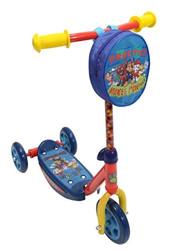【送料無料】パウ・パトロール PlayWheels クラシック3輪スクーター キックスクーター ハンドル用ポーチ付き