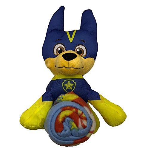 パウパトロール アメリカ直輸入 英語 バイリンガル育児 おもちゃ 【送料無料】Paw Patrol Nickelodeon Super Chase Plush Figurine Doll and Blanket Throw Gift Setパウパトロール アメリカ直輸入 英語 バイリンガル育児 おもちゃ