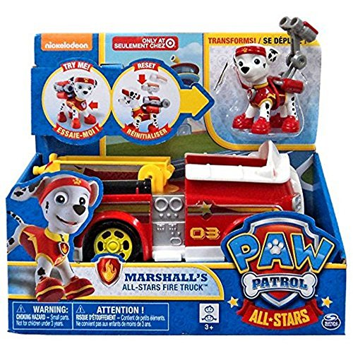 パウパトロール アメリカ直輸入 英語 バイリンガル育児 おもちゃ 【送料無料】Paw Patrol Marshalls All-Stars Fire Truckパウパトロール アメリカ直輸入 英語 バイリンガル育児 おもちゃ