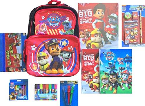 パウパトロール アメリカ直輸入 英語 バイリンガル育児 おもちゃ Paw Patrol Ultimate 9 Pc School Supplies Gift Set Includes Paw Patrol Backpack, Notebooks & Moreパウパトロール アメリカ直輸入 英語 バイリンガル育児 おもちゃ