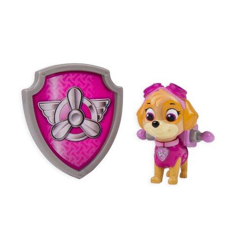 パウパトロール アメリカ直輸入 英語 バイリンガル育児 おもちゃ 20065104 Nickelodeon, Paw Patrol - Action Pack Pup & Badge - Skyeパウパトロール アメリカ直輸入 英語 バイリンガル育児 おもちゃ 20065104