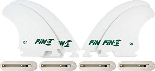サーフィン フィン マリンスポーツ Fin-S Production Set Q-1 Quad White 4 Surfboard Fins/4 Boxesサーフィン フィン マリンスポーツ