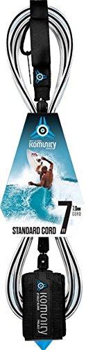 サーフィン リーシュコード マリンスポーツ Komunity Project 7' Standard Surfboard Leash 7mm Blackサーフィン リーシュコード マリンスポーツ