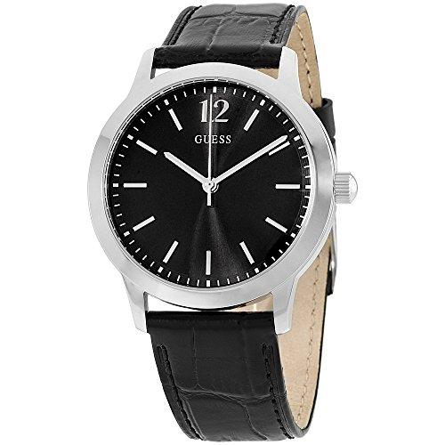 腕時計 ゲス GUESS メンズ U0922G1 【送料無料】Guess Watches Men's Guess Men's Leather Black Watch腕時計 ゲス GUESS メンズ U0922G1
