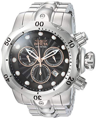 インヴィクタ インビクタ ベノム 腕時計 メンズ 23886 【送料無料】Invicta Men's Venom Quartz Watch with Stainless-Steel Strap, Silver, 25.9 (Model: 23886)インヴィクタ インビクタ ベノム 腕時計 メンズ 23886