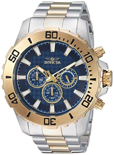 インヴィクタ インビクタ プロダイバー 腕時計 メンズ 22548 Invicta Men's Pro Diver Quartz Watch with Stainless-Steel Strap, Two Tone, 24 (Model: 22548)インヴィクタ インビクタ プロダイバー 腕時計 メンズ 22548