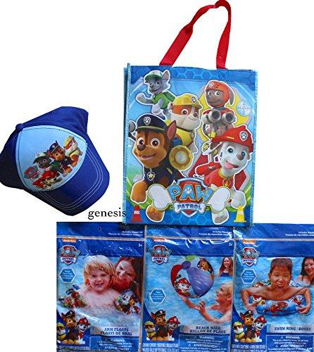 パウパトロール アメリカ直輸入 英語 バイリンガル育児 おもちゃ 【送料無料】Paw Patrol Children's Beach Toys & Supplies Arm Floats, Beach Ball, Swim Ring Tote Bag for Storage & 1 Beachパウパトロール アメリカ直輸入 英語 バイリンガル育児 おもちゃ