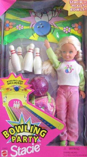 バービー バービー人形 チェルシー スキッパー ステイシー 22013 Barbie Bowling Party STACIE Doll w Bowling Pins, Bowling Ball & More! (1998)バービー バービー人形 チェルシー スキッパー ステイシー 22013
