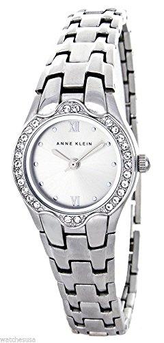アンクライン 腕時計 レディース Anne Klein Women's Silver Dial Silver Tone Metal Bracelet Watch AK/1387SVSVアンクライン 腕時計 レディース