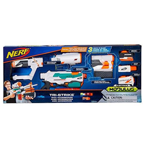 ナーフ モジュラス エヌストライクエリート シューティング アメリカ Nerf Modulus Tri-Strike with Accessoriesナーフ モジュラス エヌストライクエリート シューティング アメリカ